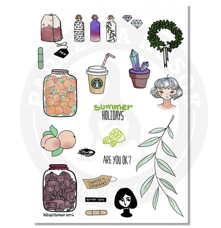 Тамблер листья<br>
