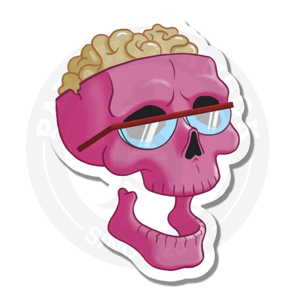 Розовый череп<br>