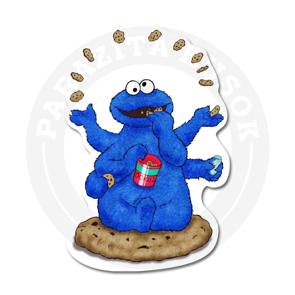 Любитель печенек - синий Коржик<br>