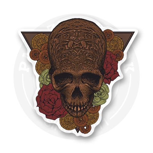 Древний череп<br>