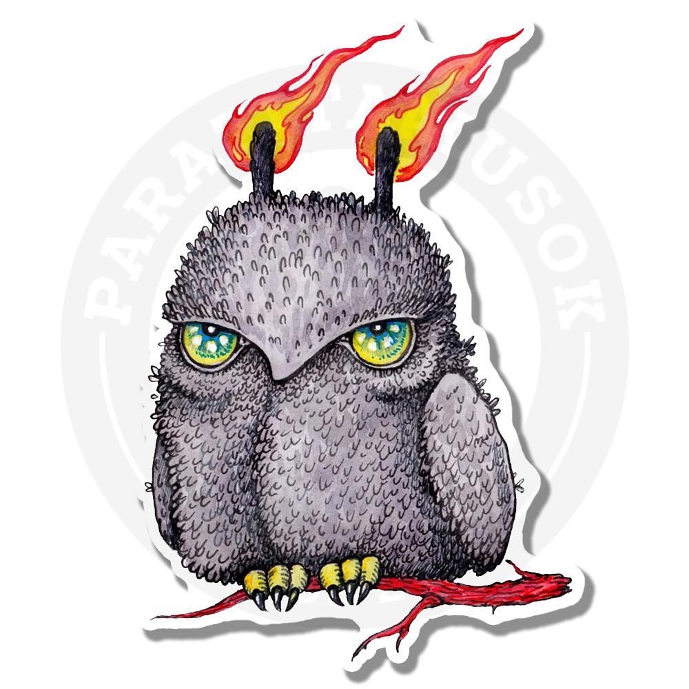 Огненная сова<br>
