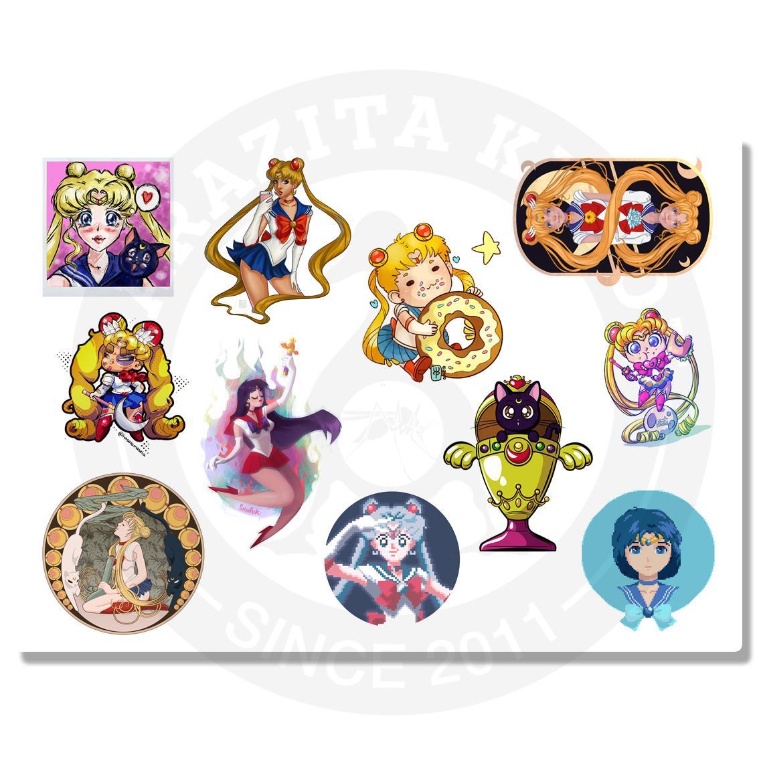 Наклейки Sailor Moon (Сейлор Мун)<br>