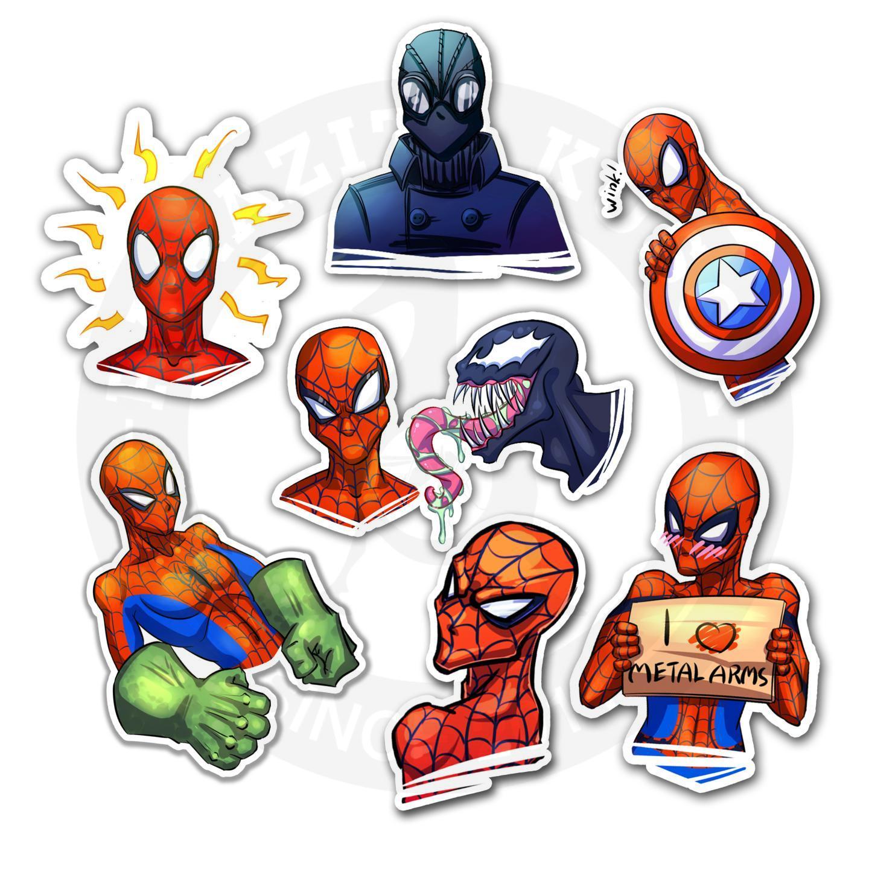 Наклейки Человек-паук/Spider Man<br>