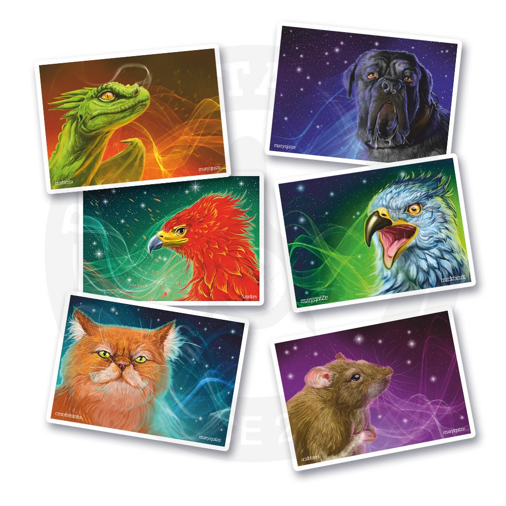 Волшебные животные из мира Гарри Поттера!<br>