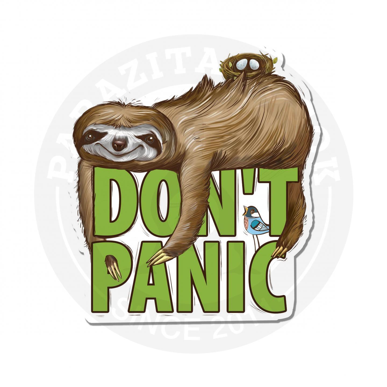 Ленивец призывает расслабиться<br>