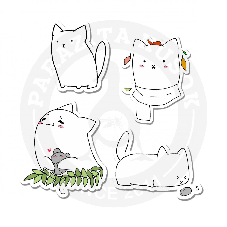 Наклейки Коты<br>