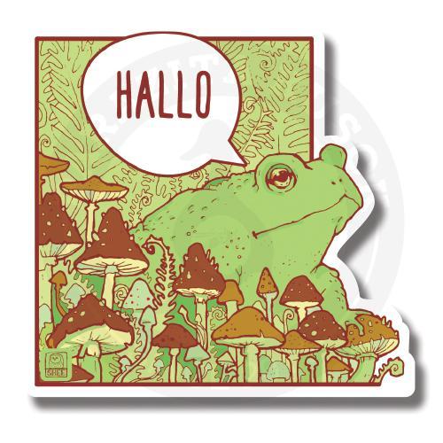 Hallo лесная лягушка<br>