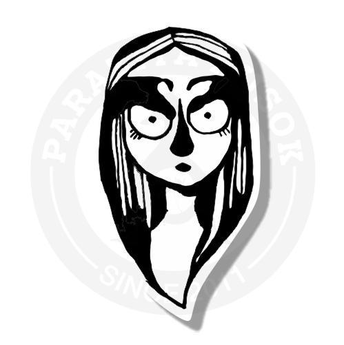 Чернильная девушка<br>