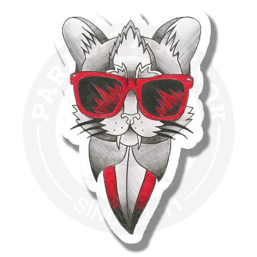 Кот в очках<br>