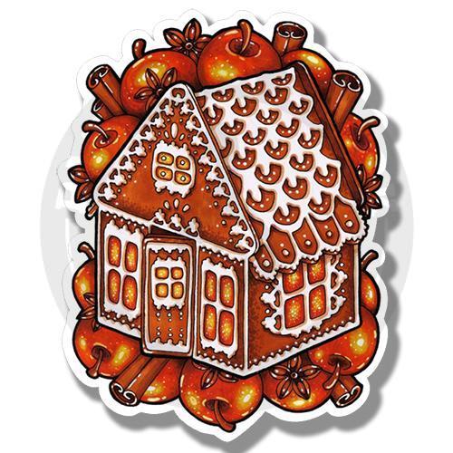 Новогодний пряничный домик<br>