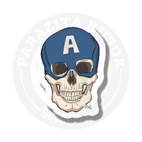 Captain America dead skull<br>