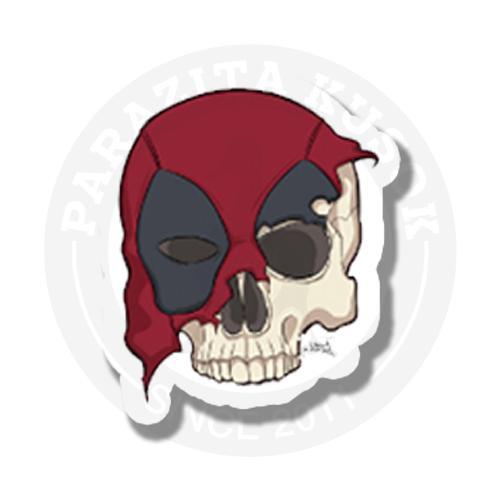 Deadpool dead skull<br>