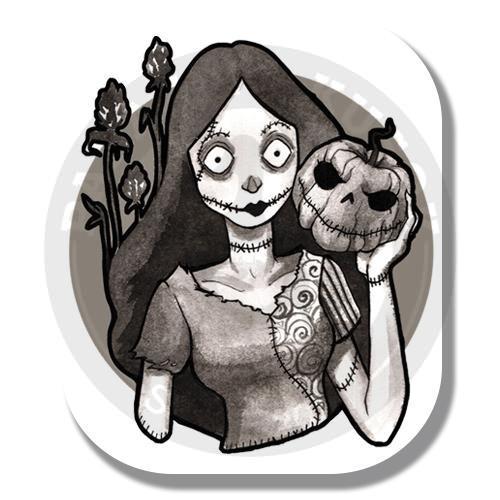 Наклейка Салли (Кошмар Перед Рождеством)/Sticker Sally (The Nightmare Before Christmas)<br>