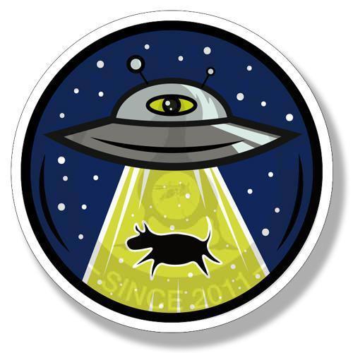 Наклейка НЛО<br>