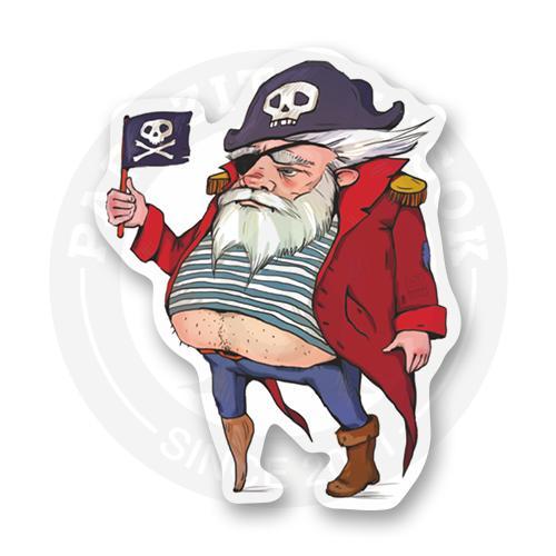 Старый бывалый пират<br>