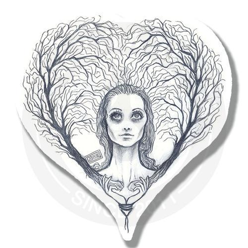 Наклейка Сердце<br>