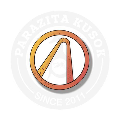 Стикер Логотип искателей убежища (vault hunters) из игры Borderlands 2<br>