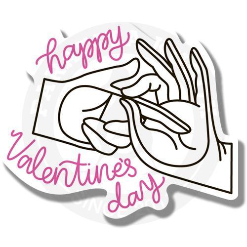 Наклейка В день святого Валентина<br>