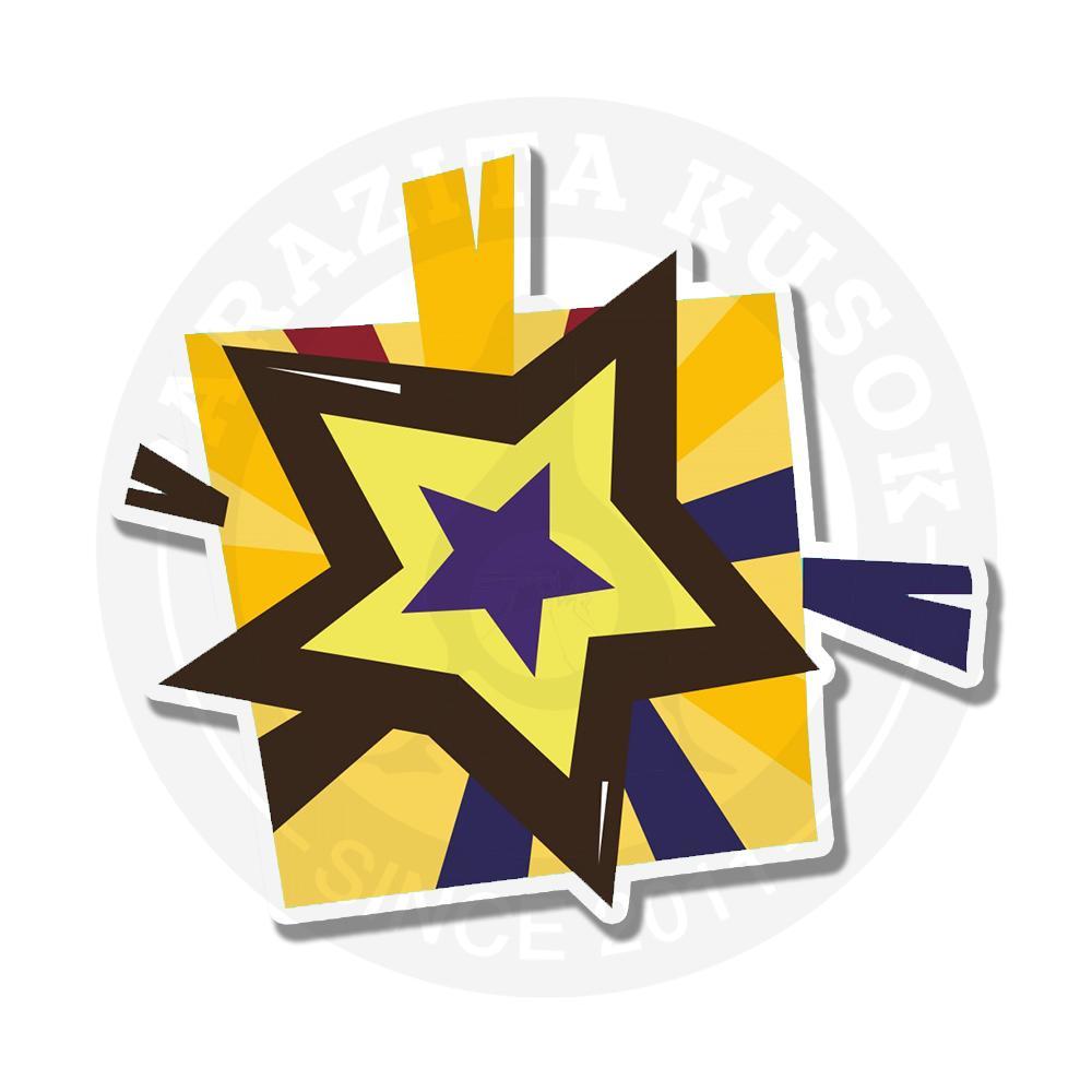 Наклейка Звезда<br>