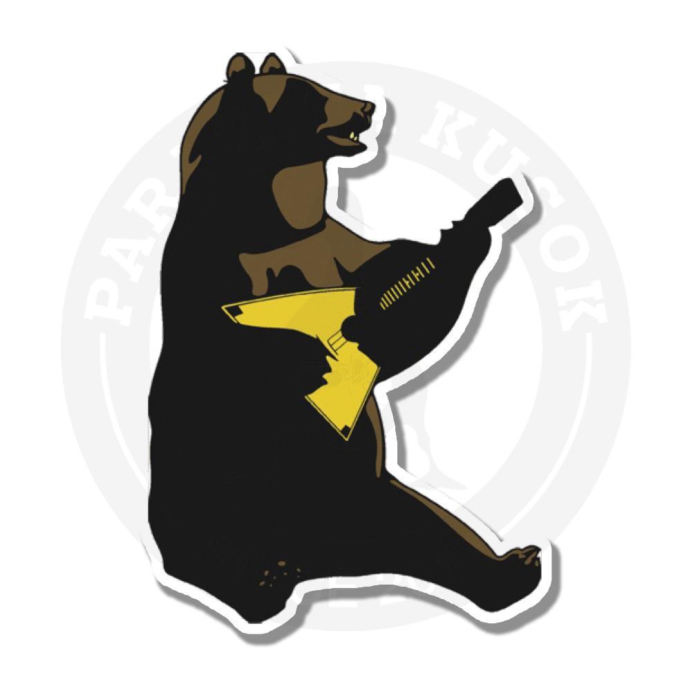 Медведь с балалайкой<br>