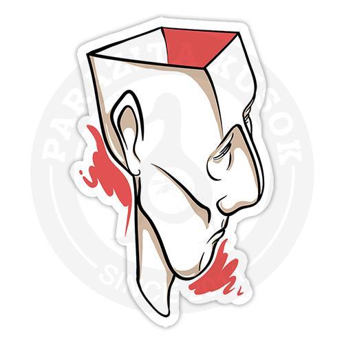 Наклейка Голова<br>
