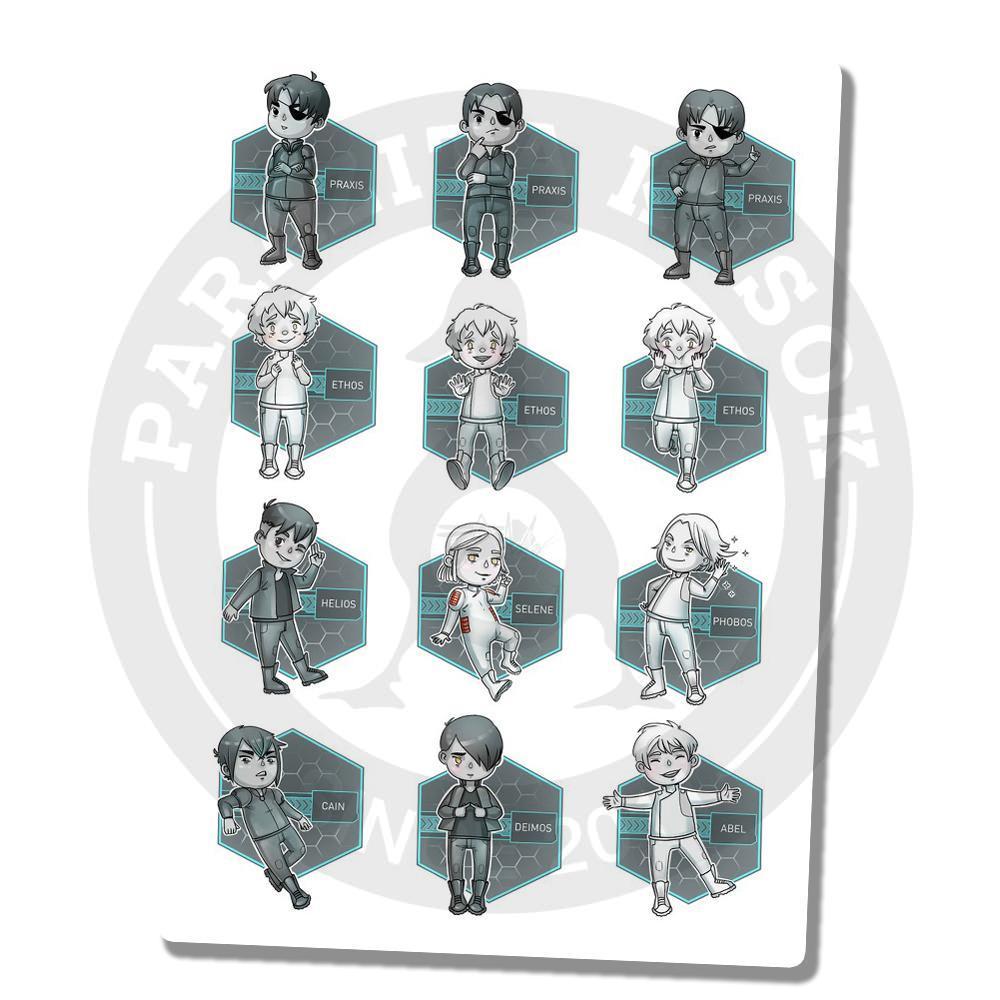 Персонажи игры StarFighter<br>