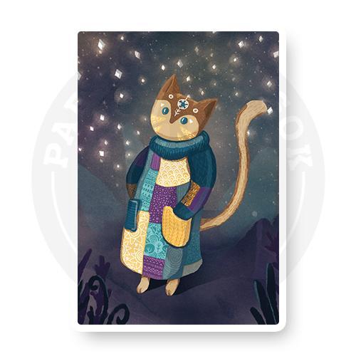 Кот - звездочет<br>