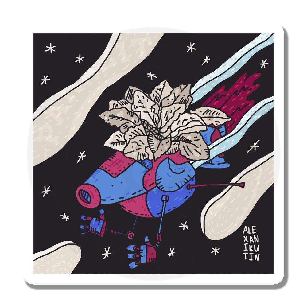 Цветок в космосе<br>