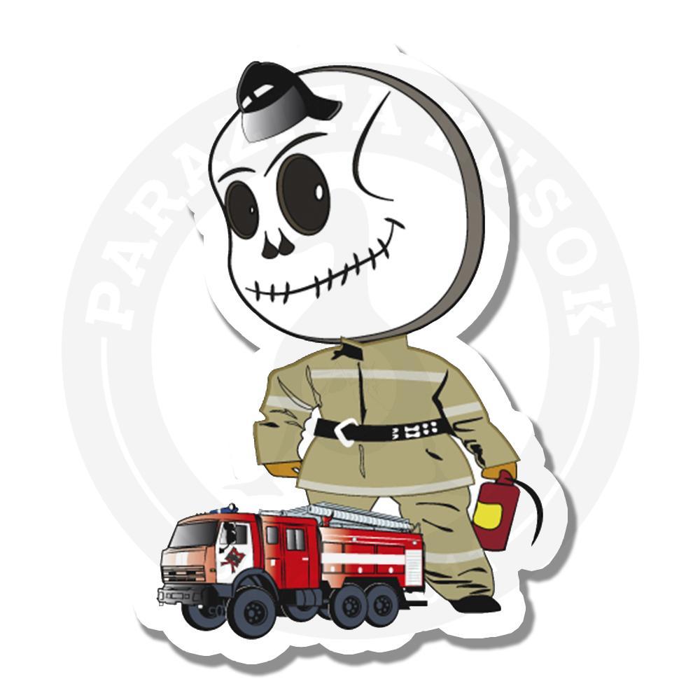 Череп-пожарный<br>