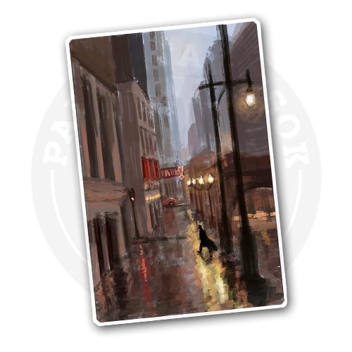 Дождливый город<br>