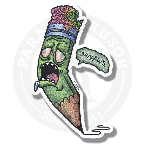 Карандаш-зомби<br>