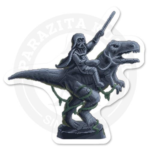 Дарт Вейдер верхом на тиранозавре<br>