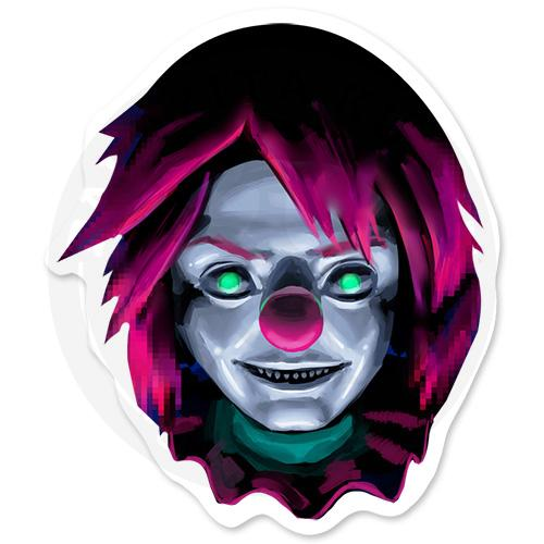 Зловещий клоун<br>