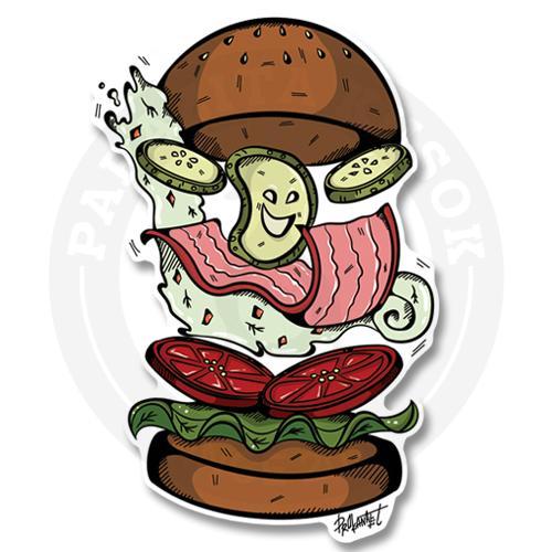 Веселый бургер<br>