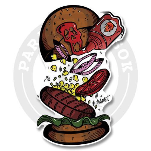 Жгучий бургер<br>
