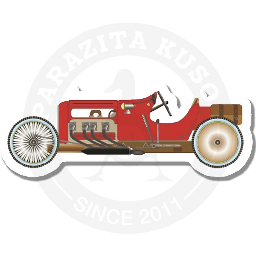 Старинный спортивный автомобиль<br>