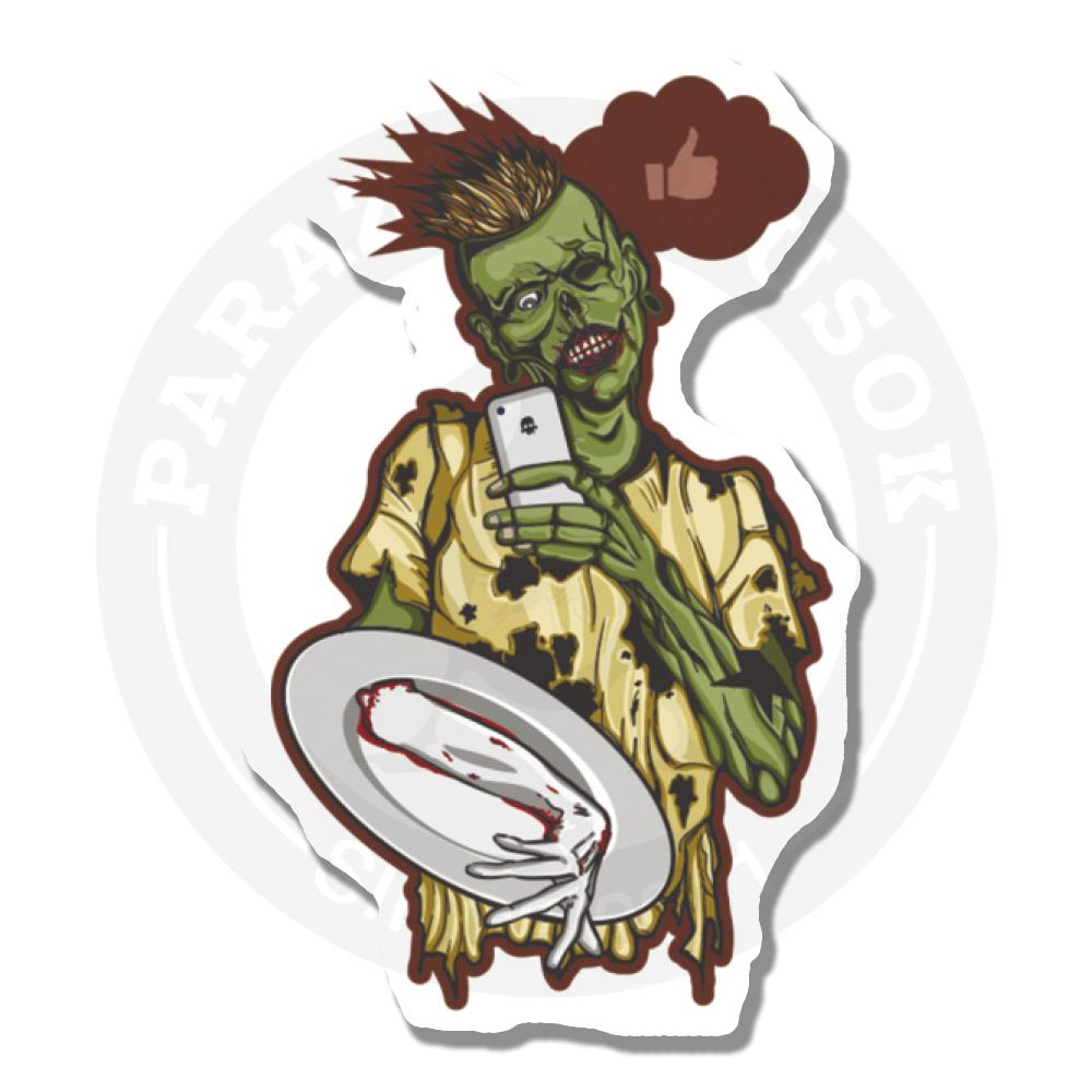 Зомби- инстаграмщик<br>