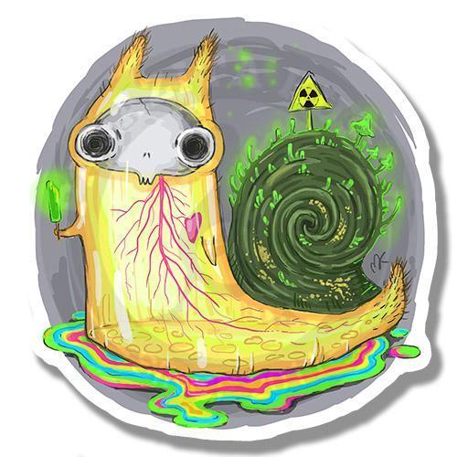 Радиоактивная улитка<br>