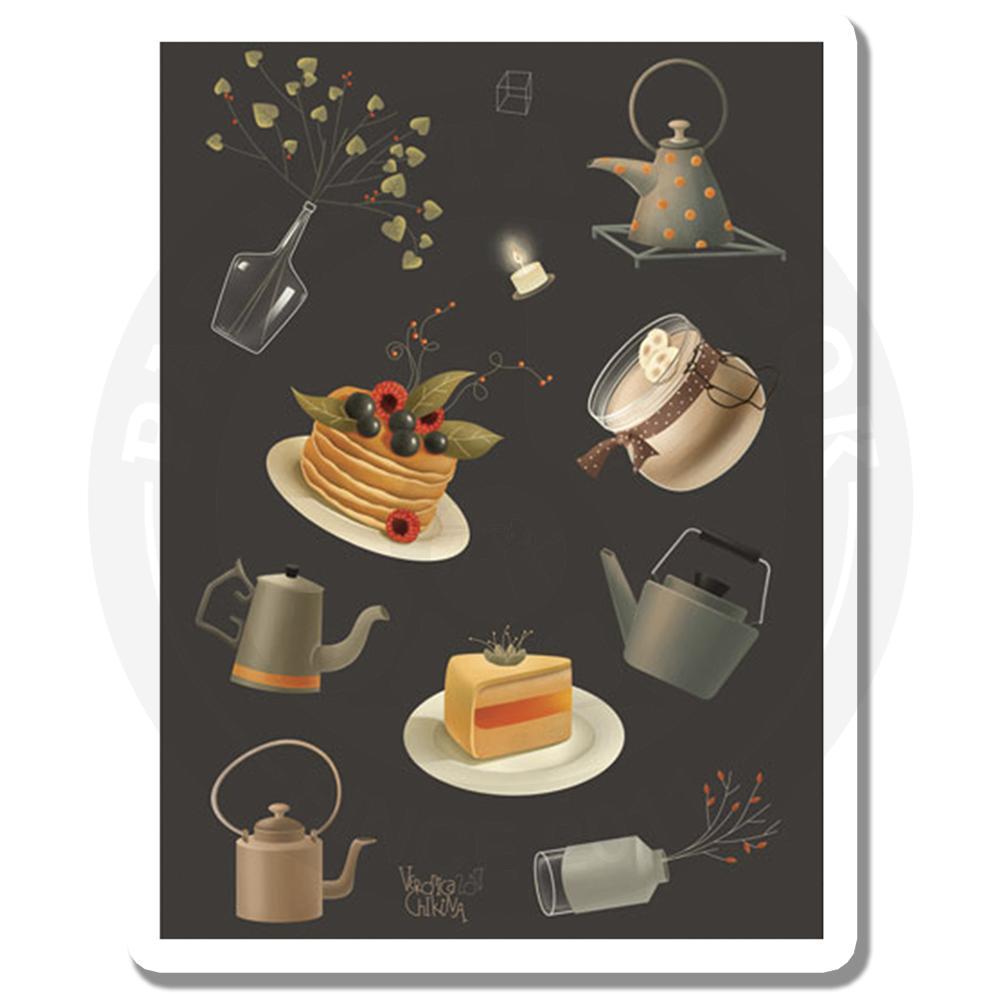 Чай и вкусняшки<br>