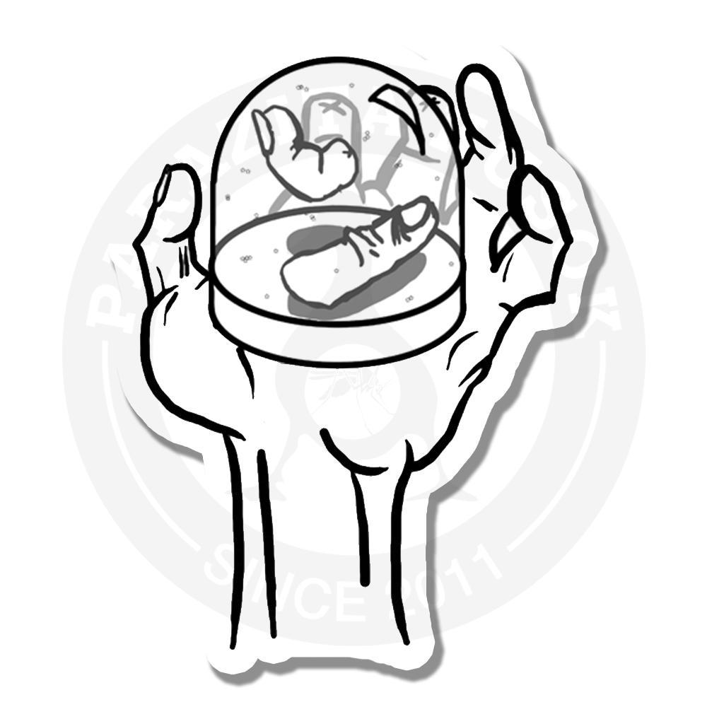 Пальцы в шаре<br>