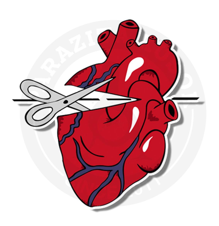 Разрезанное сердце<br>