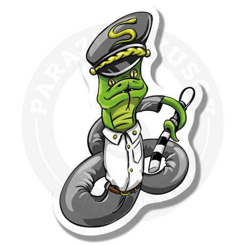 Зеленый змей на страже закона<br>