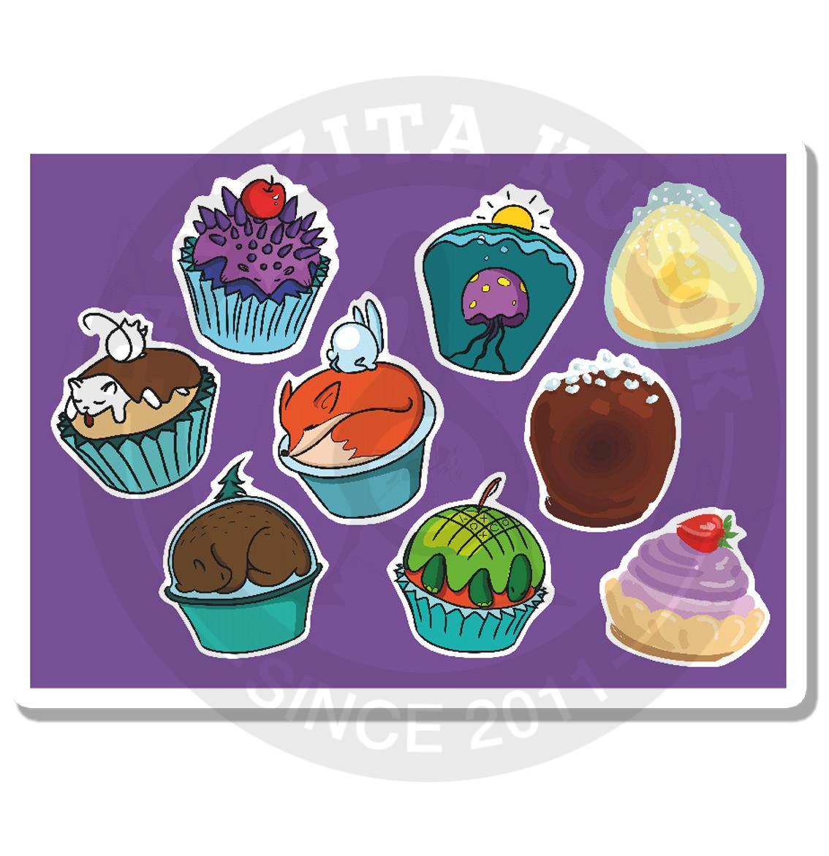 Кексы и пирожные<br>