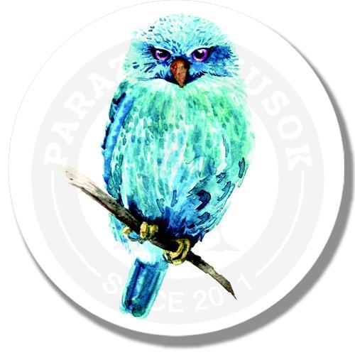 Акварельная сова<br>