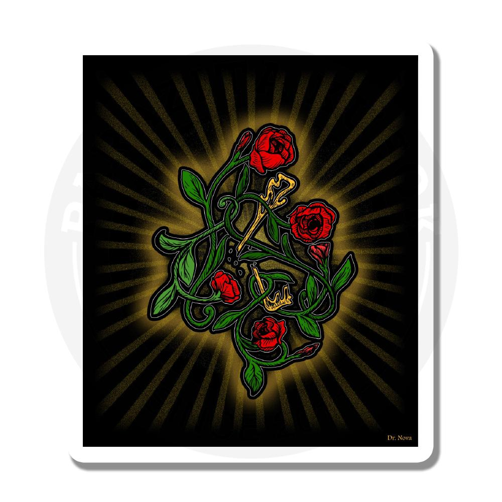 Ключ и розы<br>