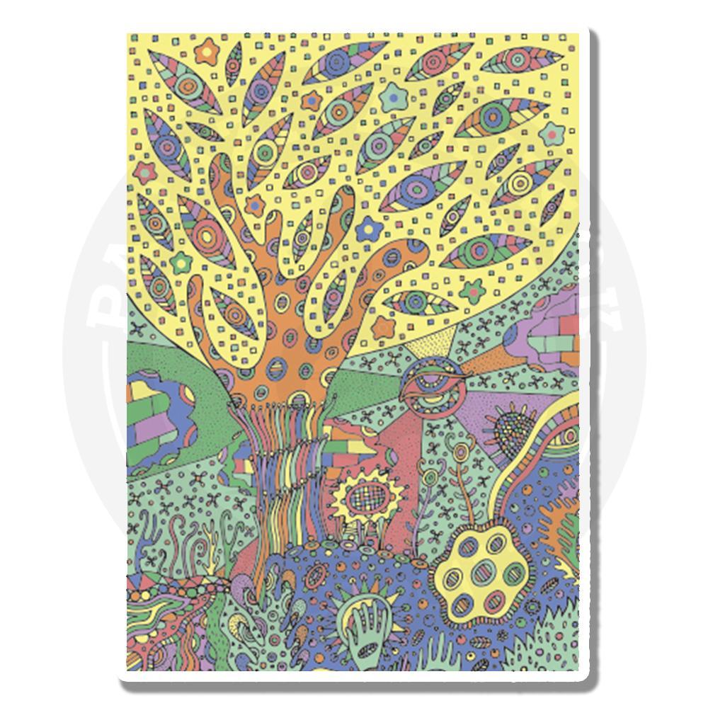 Пейзаж с деревом<br>