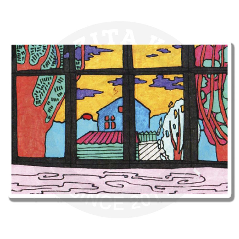 Пейзаж за окном<br>