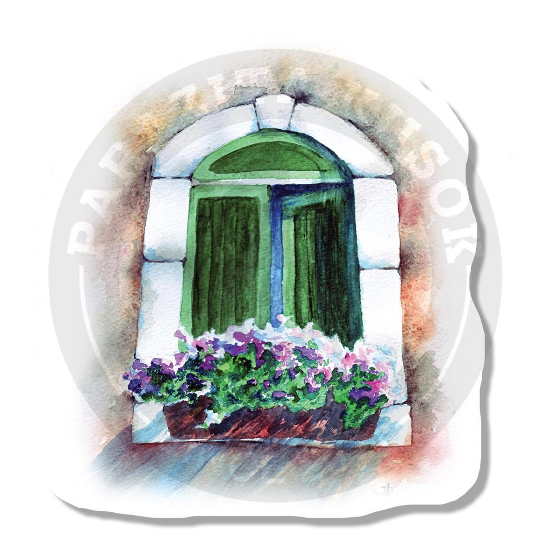 Цветы на окне<br>