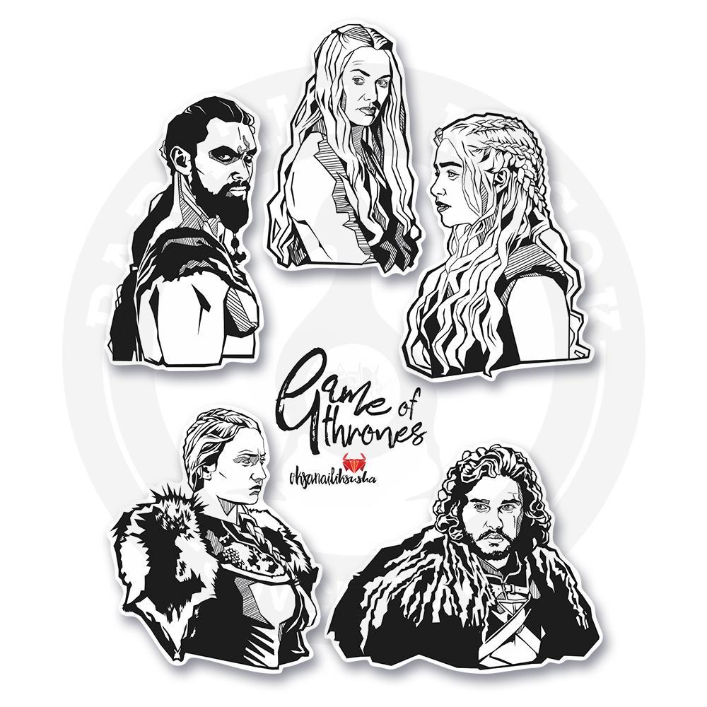 5 героев из сериала Игра престолов<br>