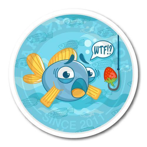 Рыбка в недоумении<br>